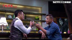 江宏傑與李榮光暗地裡「乾坤大挪移」詭計。