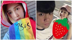 台灣女星劉奕兒與弟弟約跑步,意外秀出好身材。雪乳,細肩,黑色背心。(圖/翻攝自劉奕兒臉書)