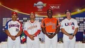 ▲世界棒球12強A組4隊總教練。(圖/取自國際棒壘球總會)