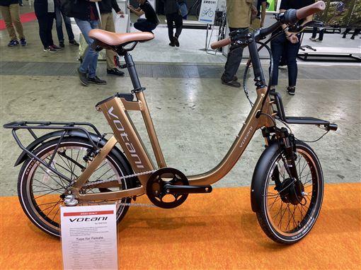 自行車持續電動化和電子化,從驅動系統、電池、鏈條到無線連接全新變革,都為ICT供應鏈大本營的台灣廠商帶來新契機。中央社記者韓婷婷攝 108年11月3日