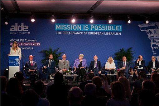 第40屆ALDE年會。(圖/翻攝ALDE Party推特)