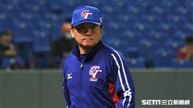 ▲12強中華隊洪一中總教練。(圖/記者王怡翔攝影)