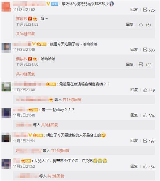 蔡依林 圖/微博