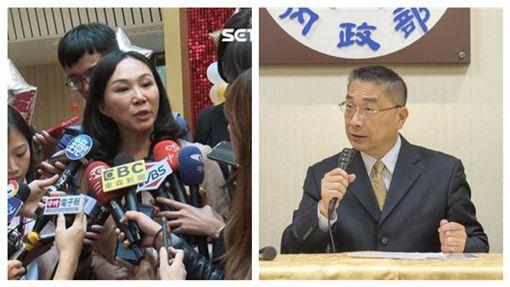 國民黨總統參選韓國瑜妻子李佳芬,內政部長徐國勇。(組合圖/資料照,內政部提供)