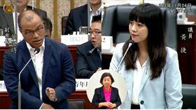 黃捷、葉匡時,韓國瑜,青年政策(圖/翻攝高雄市議會直播)