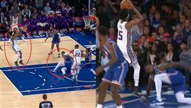 NBA/福克斯這一晃…讓主播呻吟了 NBA,沙加緬度國王,De'Aaron Fox,後撤步 翻攝自YouTube NBA on ESPN