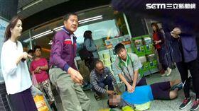 CPR,少年,救援,新北,翻攝畫面,民眾提供