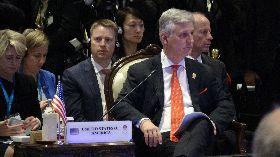 美國白宮國安顧問歐布萊恩出席東亞峰會