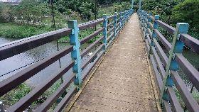 基隆暖暖親水公園吊橋 市府檢測確認安