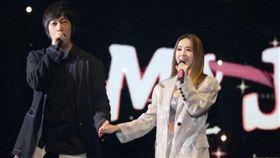 五月天,蔡依林,阿信,演唱會,上海(圖/翻攝自蔡依林臉書)