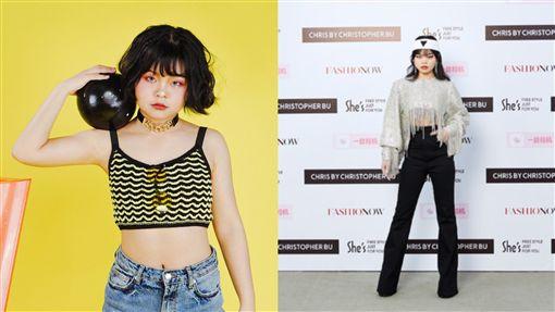 大陸女團3unshine成員cindy 翻攝自微博