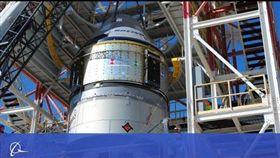 波音公司(Boeing Co.)的星際飛機(Starliner)太空船今天成功完成緊急中斷飛行測試,最早可望能在明年將美國太空人送上國際太空站。(圖/翻攝自Boeing YouTube頻道)