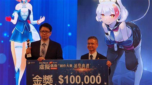 中華電跨足VTuber產業 虛擬偶像助陣中華電信舉辦「HiNet光世代虛擬偶像創作大賽」獲獎的虛擬偶像將出任HiNet光世代的品牌代言人。中央社記者江明晏攝 108年11月5日