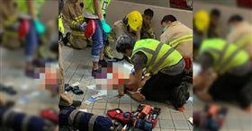 香港,反送中,香港科技大學大學生墜樓(圖/翻攝自立場新聞)