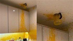 果汁機,天花板,果汁(爆廢公社二館)