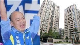 韓國瑜7千萬豪宅(組合圖/資料照、記者邱榮吉攝影)