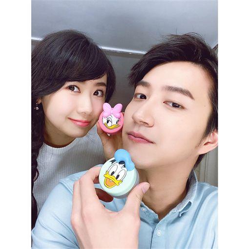 福原愛、江宏傑(圖/翻攝自福原愛臉書)