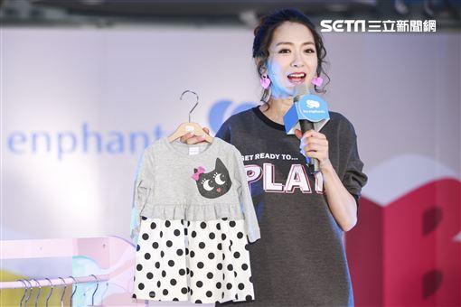 楊千霈出席兒童秋冬時裝新品發表會。(圖/記者林士傑攝影)