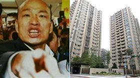 ▲ 韓國瑜被問及豪宅一事,竟暴怒反嗆媒體。(組合圖/資料照、記者邱榮吉攝影)