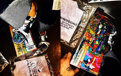 BIGBANG隊長G-Dragon權志龍聯名NIKE 經典鞋款 AIR FORCE 1(翻攝IG)