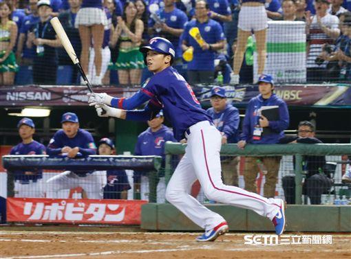 ▲世界棒球12強賽台灣中華隊朱育賢林哲瑄王威晨王勝偉委內瑞拉。