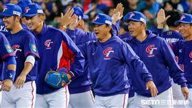 12強棒球賽,台灣贏委內瑞拉。(圖/記者林聖凱攝影)
