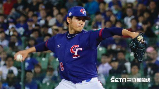 ▲世界棒球12強賽台灣中華隊委內瑞拉張奕。(圖/記者林聖凱攝影)