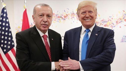 土耳其,艾爾段,會晤,川普,訪美(檔案照片/安納杜魯新聞社提供)