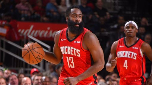 James Harden。(圖/翻攝自NBA官方推特)
