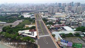 台中市,鐵路高架化,完工,健全,區域路網(圖/市府提供)中央社