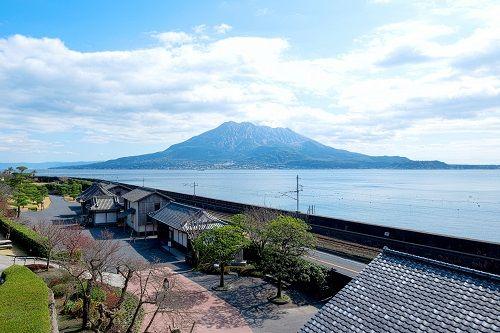 ▲日本鹿兒島櫻島火山壯麗美景(圖/shutterstock.com)