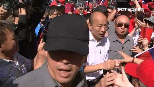 韓訪教養院稱「無關選舉」 致詞完卻喊「凍蒜」