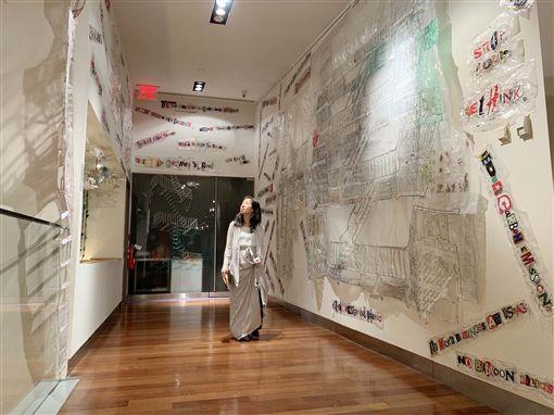 氣候變遷,駐紐約辦事處,舉辦,藝術展,環境議題(圖/中央社)