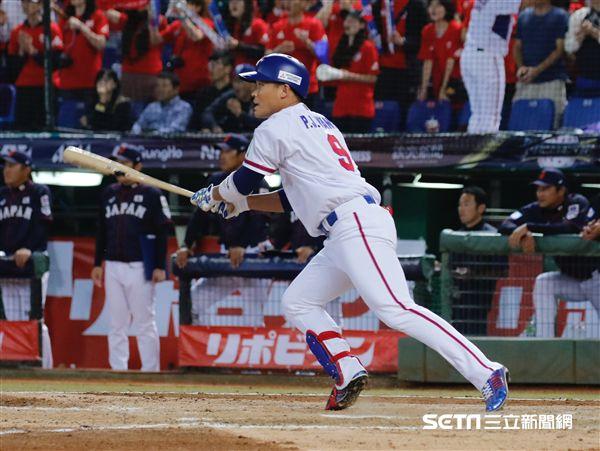 世界12強棒球賽王柏融。(圖/記者林聖凱攝影)