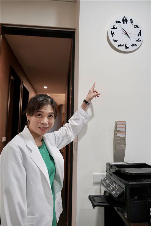 性治療師童嵩珍(記者郭奕均攝影)