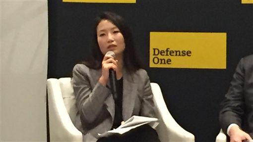 美學者看台灣大選  選民更關注中國議題美國和平研究所資深政策分析師金今天表示,美國應該給予台灣支持,因為這是正確的事。談及明年大選,她認為將和去年選舉不同,因為香港情勢,選民將更關注中國議題。中央社記者江今葉華盛頓攝  108年11月8日