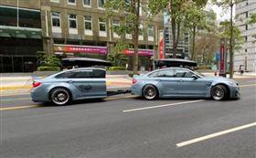 「BMW切一半」費用曝光!改造超耗時 帥炸過程網跪了(圖/翻攝自駒沃克車體工藝塗裝臉書)