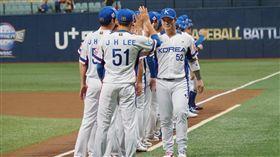 ▲世界12強棒球賽韓國隊(圖/翻攝自WBSC粉絲團)