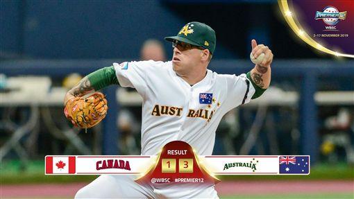 ▲澳洲3:1擊敗加拿大,進帳預賽首勝。