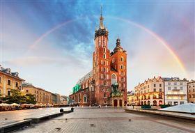 ▲克拉科是波蘭南方最美之城(圖/shutterstock.com)