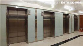 電梯。(圖/記者陳韋帆攝影)