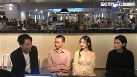 《隨片登台》張景嵐 黃鐙輝 4x相識 記者邱于倫攝影