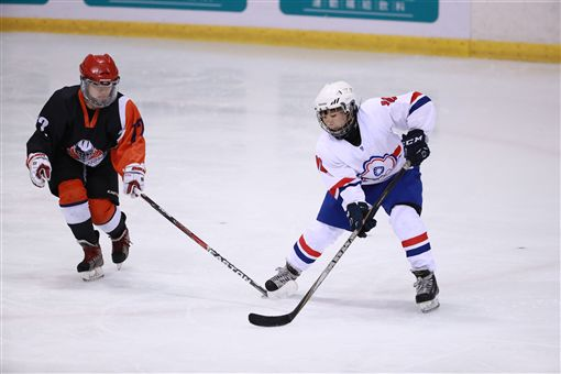 ▲台灣盃女子冰球賽。(圖/大會提供)