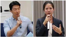 林亮君、吳崢閃電退黨!時代力量黨中央:祝福他們,組合圖/翻攝自臉書