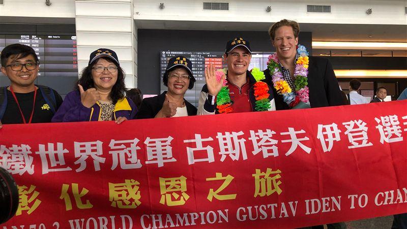 揚名國際!頭戴「彰化順澤宮帽」奪金牌 挪威選手來台還願