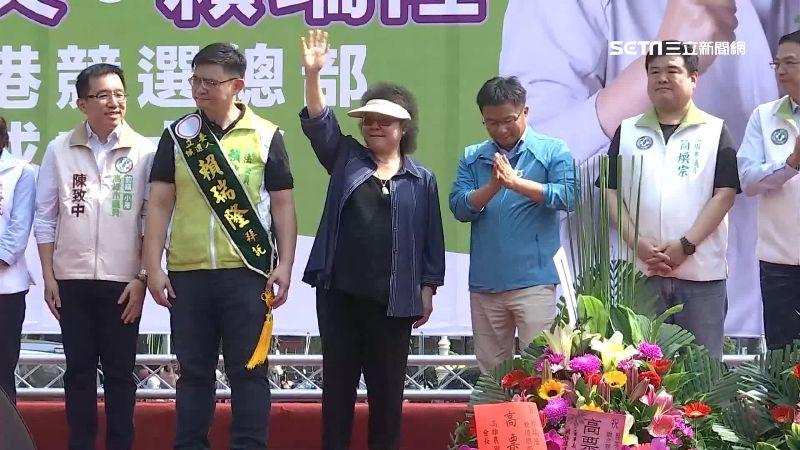 陳菊堅守行政中立!不接小英競總主委 挑假日為賴瑞隆站台