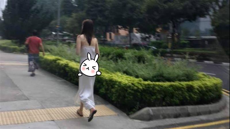街上見白裙妹「超、薄、透」黑丁出來呼吸 網嗨翻:求正面