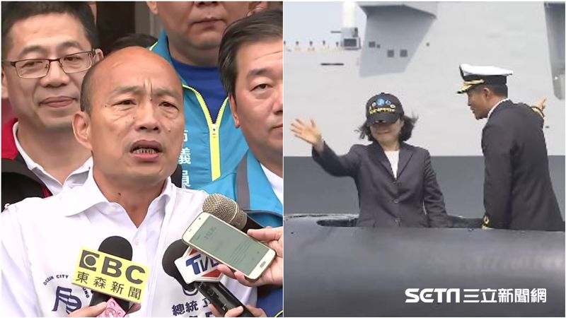 韓國瑜不看好「潛艦國造」?海軍嚴正聲明:絕非假議題