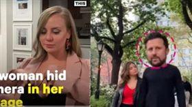 豪乳,攝影機,乳腺癌,紐約。(組合圖/翻攝自NowThis News youtube)