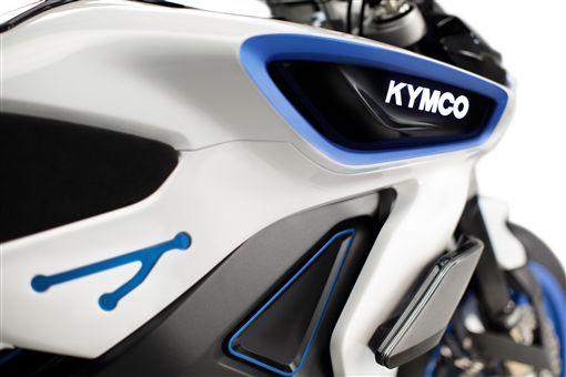 ▲KYMCO RevoNEX電動機車。(圖/KYMCO提供)